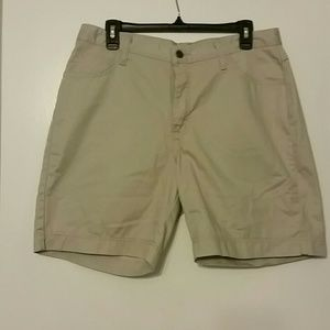 Khaki Bermuda Riders by Lee Shorts size 12